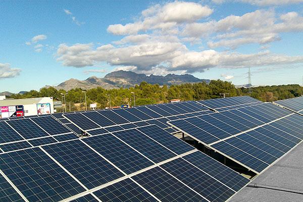 Naves Industriales Energía Fotovoltaica