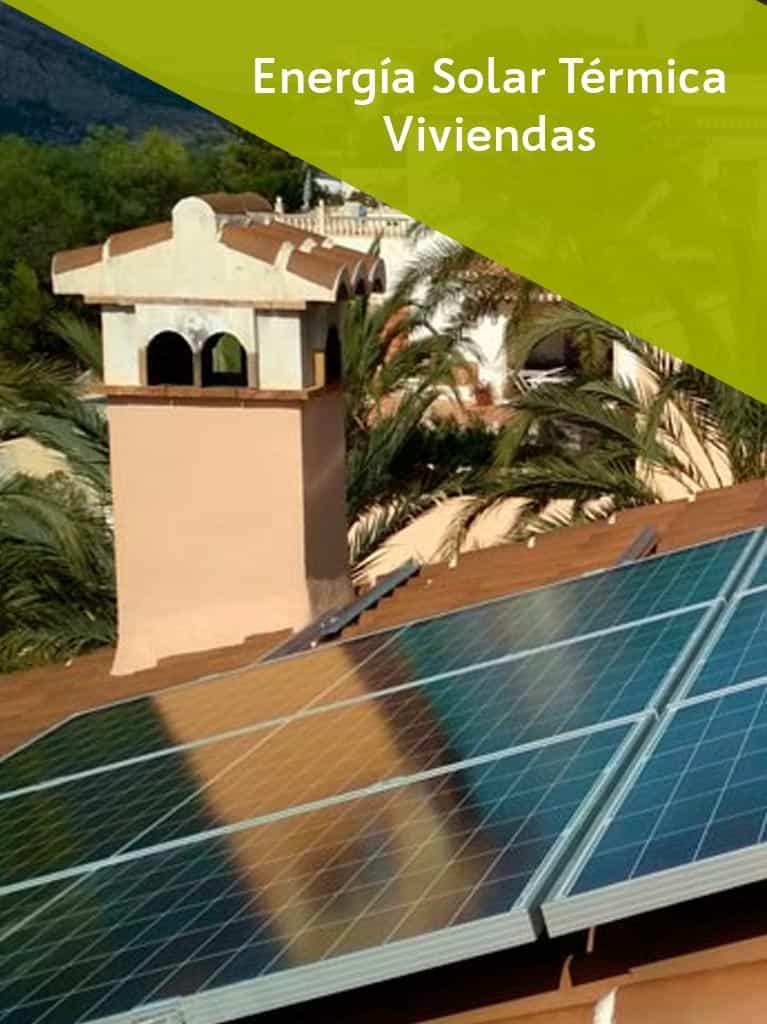 Energía Solar Térmica Viviendas